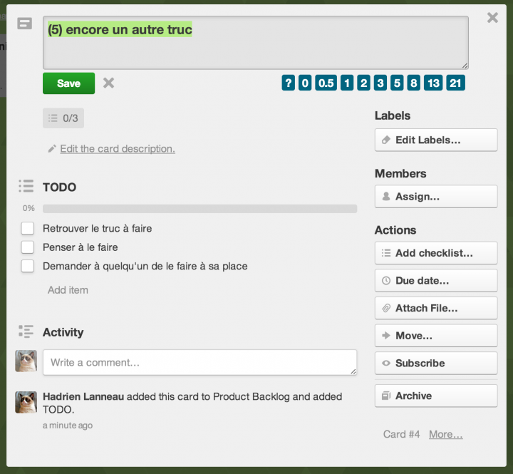 coaching agile trello sprint planning