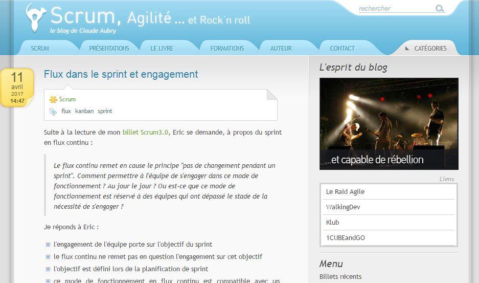 Claude Aubry – Scrum, Agilité et Rock'n roll
