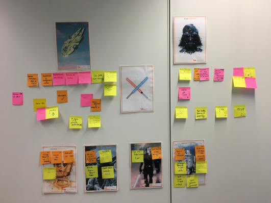 retrospective agile star-wars
