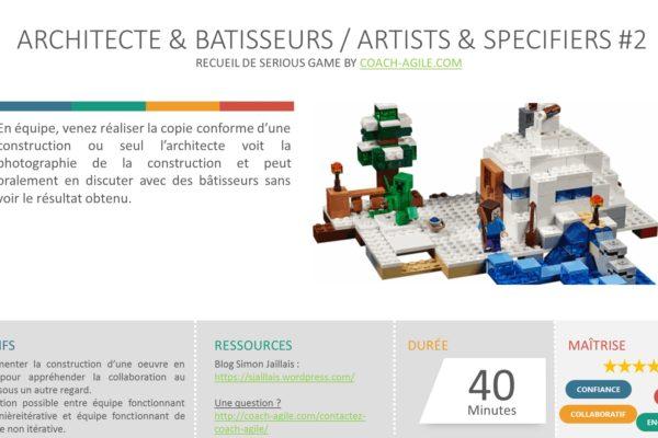 SERIOUS GAME : ARCHITECTES & BATISSEURS
