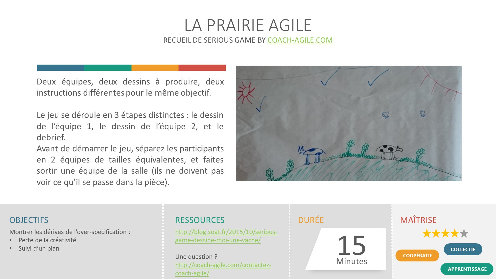 SERIOUS GAME : LA PRAIRIE AGILE