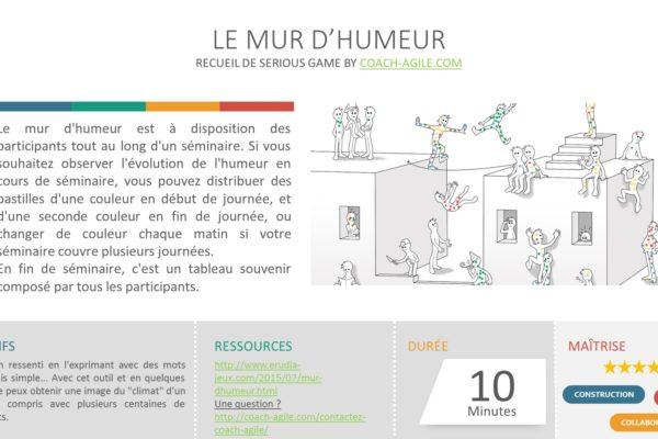 ICE BREAKER : LE MUR D'HUMEUR