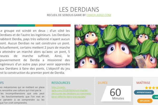 SERIOUS GAME : LES DERDIANS