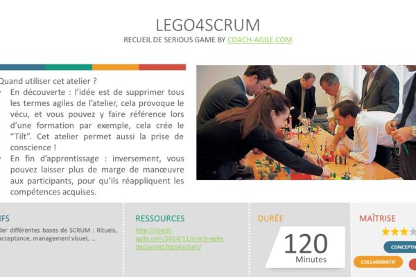 SERIOUS GAME : LEGO 4 SCRUM