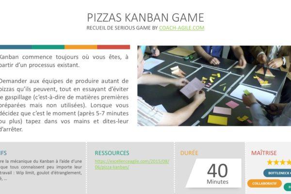 SERIOUS GAME : PIZZAS KANBAN