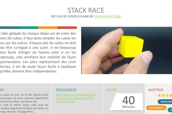 SERIOUS GAME : STACK RACE