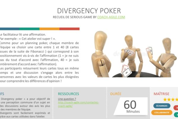 SERIOUS GAME : DIVERGENCY POKER