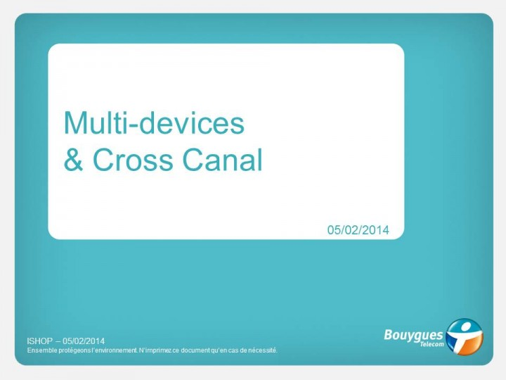 Recommandation Multi-Devices