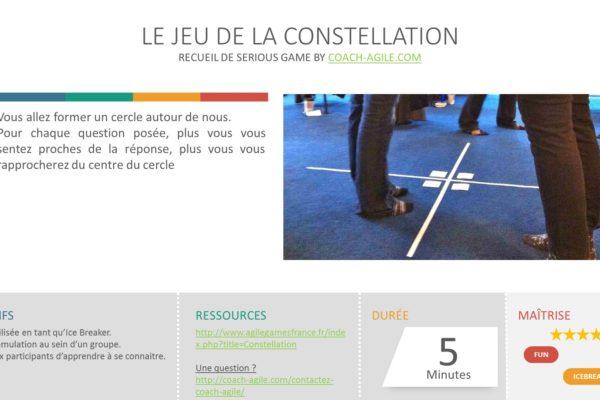 ICE BREAKER : LE JEU DE LA CONSTELLATION