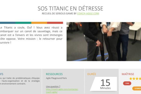 ICE BREAKER : SOS TITANIC