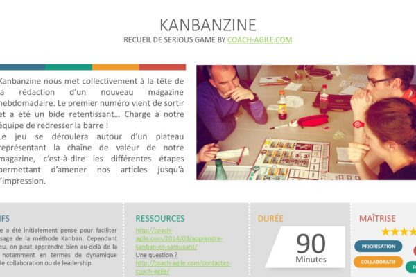 SERIOUS GAME : KANBANZINE