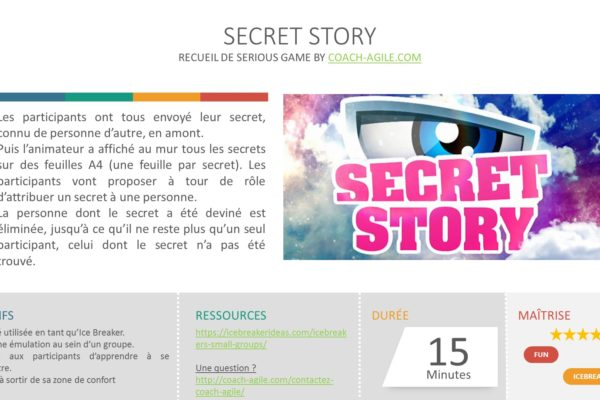 ICE BREAKER : SECRET STORY