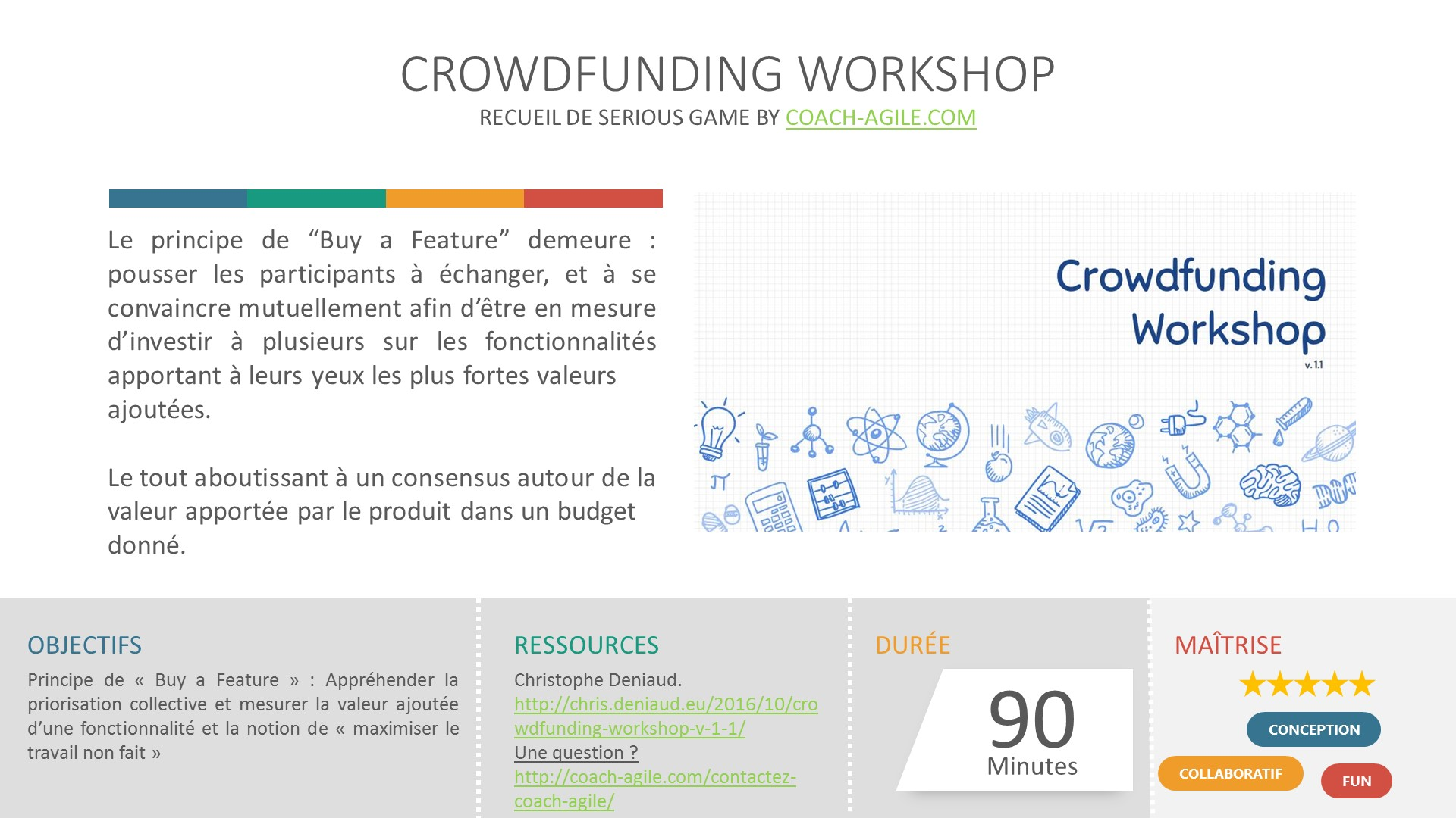 SERIOUS GAME : CROWDFUNDING WORKSHOP