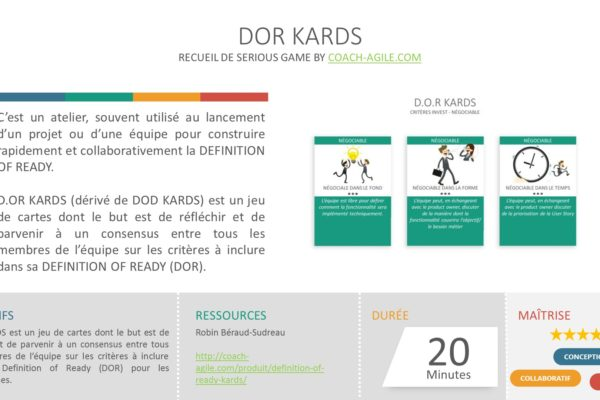 SERIOUS GAME : DOR KARDS