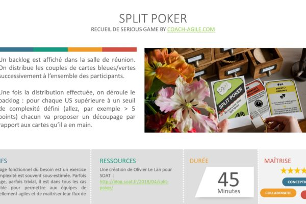 SERIOUS GAME : SPLIT POKER