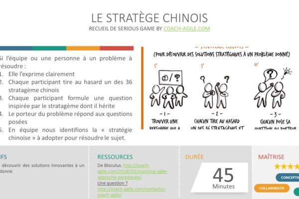 SERIOUS GAME : LE STRATÈGE CHINOIS