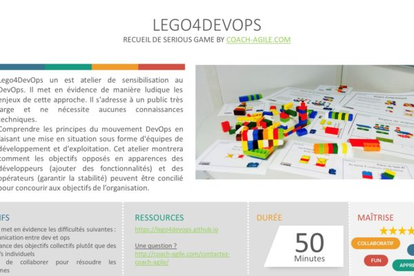 SERIOUS GAME : LEGO4DEVOPS