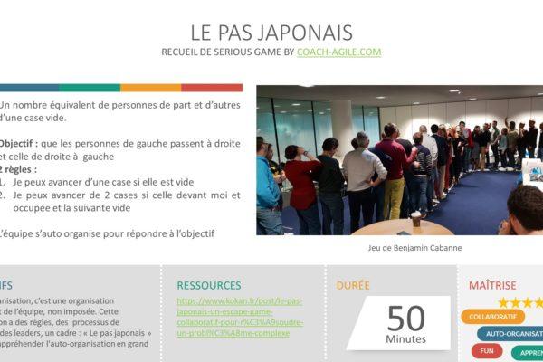 SERIOUS GAME : LE PAS JAPONAIS