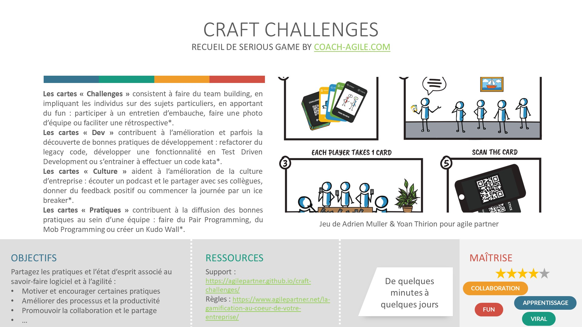 SERIOUS GAME : CRAFT CHALLENGES