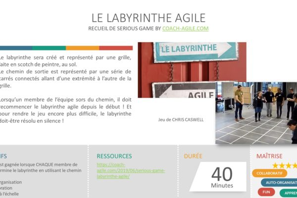 SERIOUS GAME : LABYRINTHE AGILE