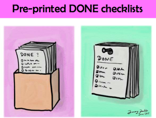 Agile Tool : Done Checklists