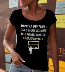 Agile coaching t-shirt