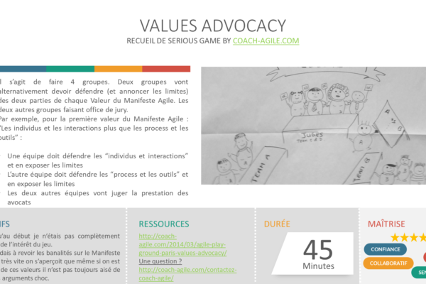 AGILE VALUES ADVOCACY