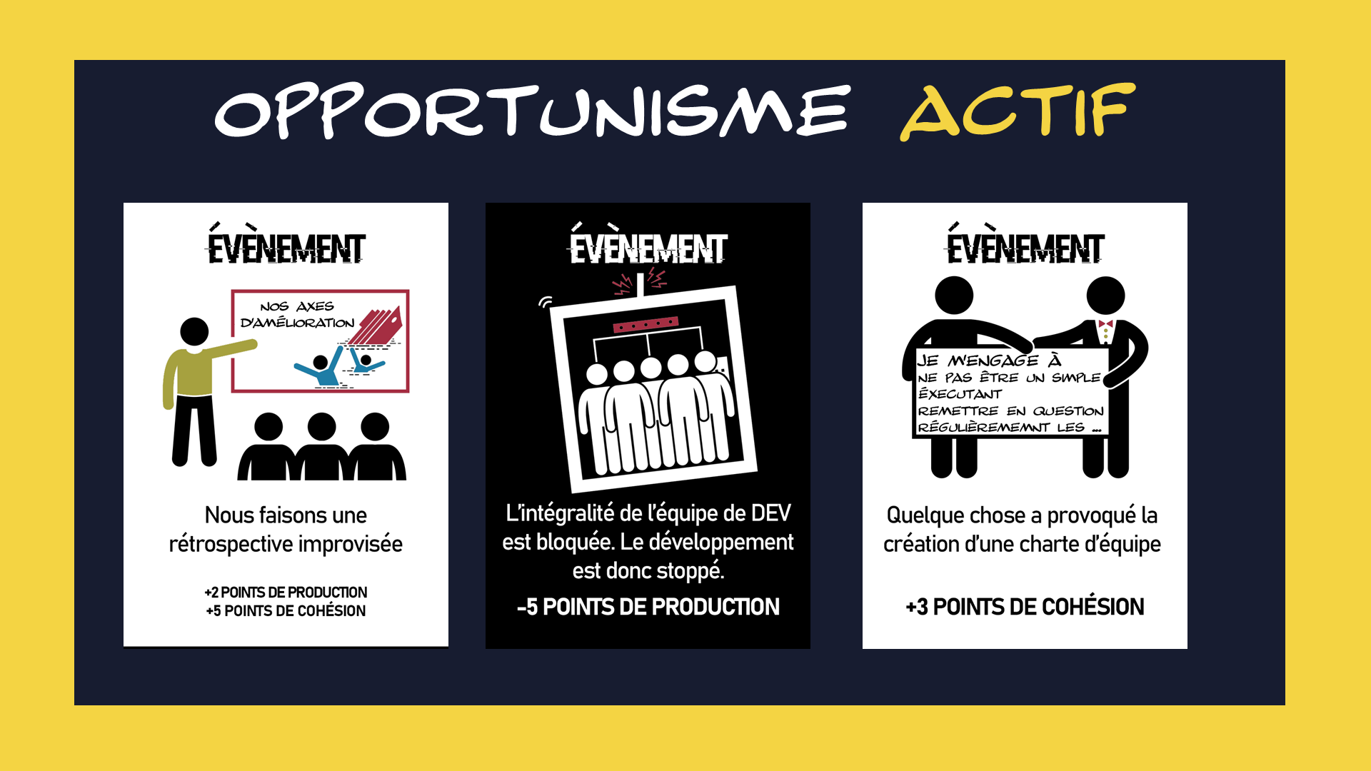 SERIOUS GAME : OPPORTUNISME ACTIF