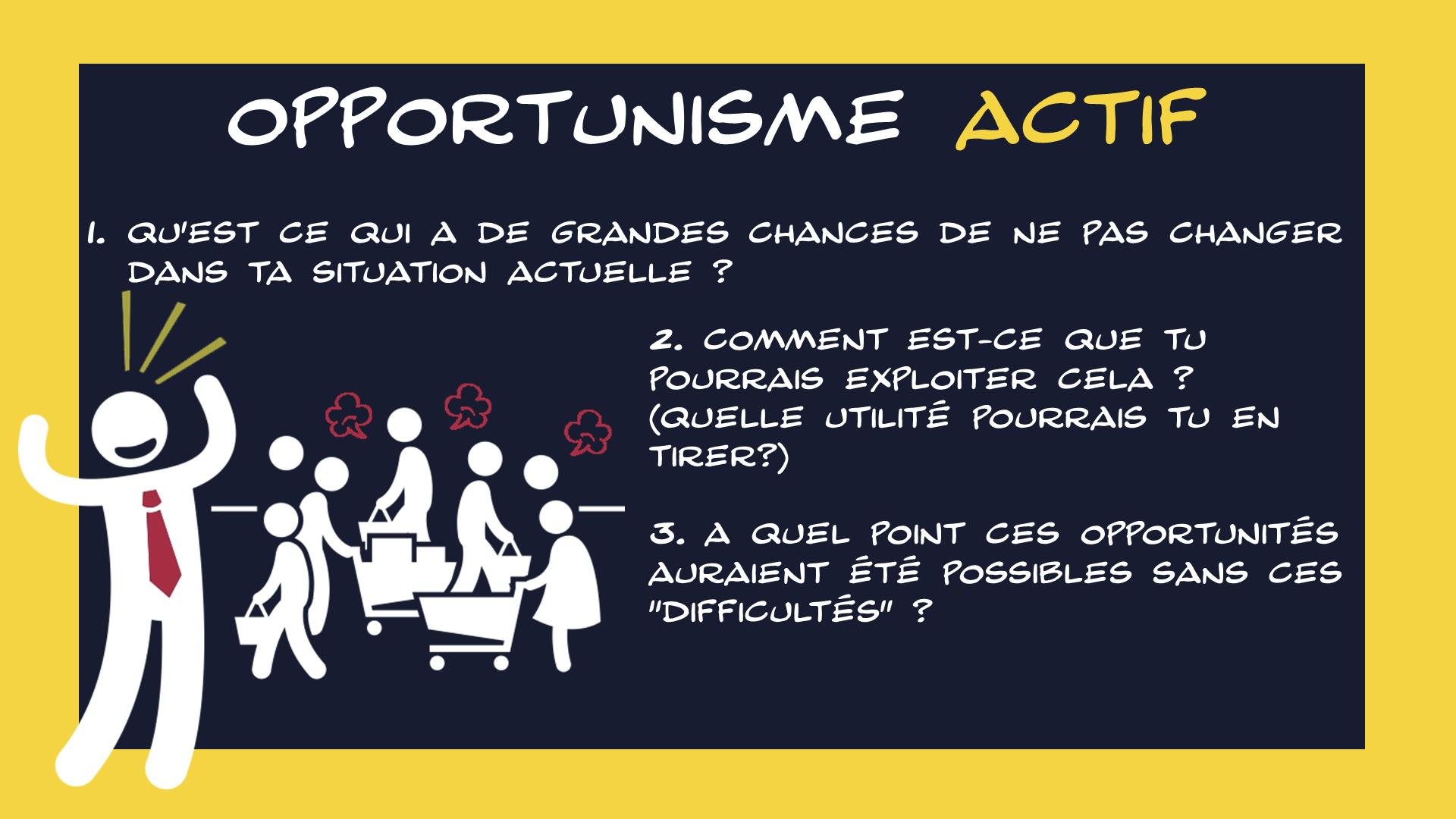 AGILITE & OPPORTUNISME ACTIF